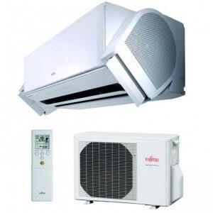 Fujitsu Nocria X serijos oro kondicionierius, šilumos siurblys oras - oras