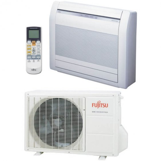 Fujitsu Nordic grindinis oro kondicionierius, šilumos siurblys oras - oras