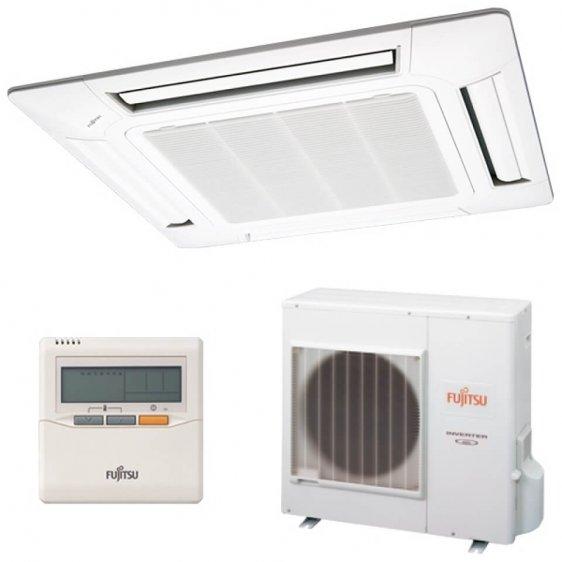 Fujitsu kasetinis oro kondicionierius, šilumos siurblys oras - oras