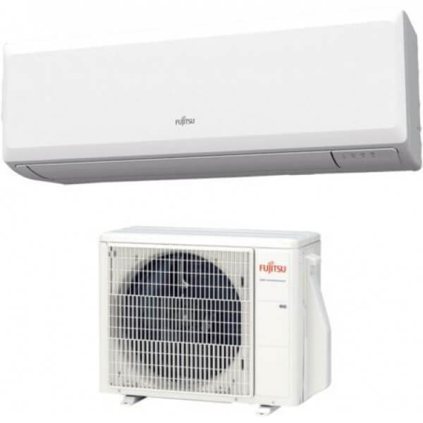 Fujitsu KPC serijos sieninio oro kondicionierius, šilumos siurblys oras - oras